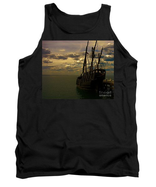 Notorious The Pirate Ship Tank Top by Blair Stuart