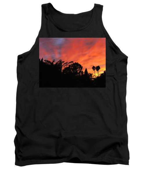 October Sunset 10 Tank Top