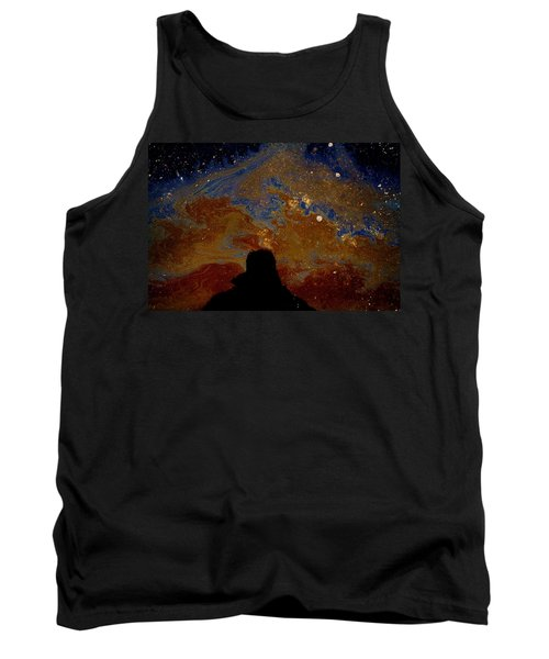 Oil On Pavement Visionary Tank Top