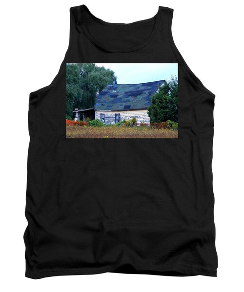 Tank Top featuring the photograph Old Barn by Davandra Cribbie