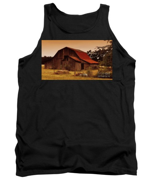 Tank Top featuring the photograph Old Barn by Lydia Holly