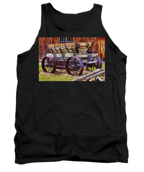 Old Wagon Bodie Ghost Town Tank Top