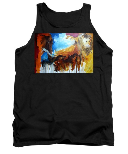 On Safari Tank Top by Keith Thue