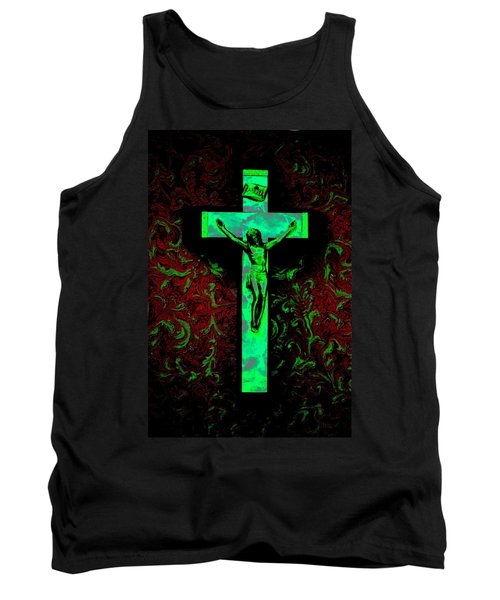 Tank Top featuring the photograph On The Cross by David Pantuso