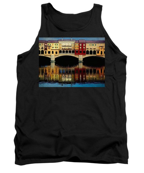 Tank Top featuring the photograph On The Lake by Tammy Espino