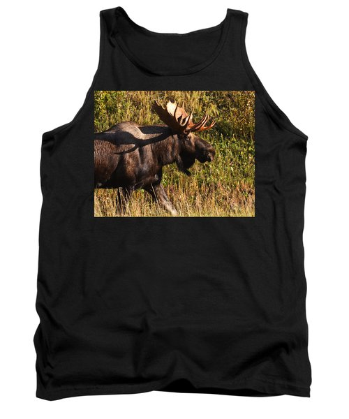 Tank Top featuring the photograph On The Move by Doug Lloyd