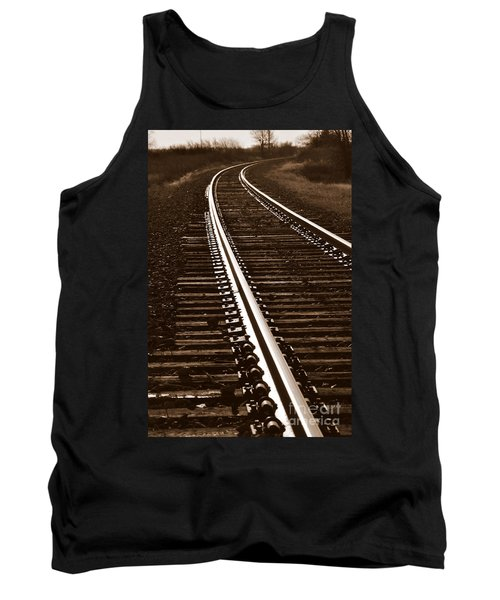 On The Right Track Tank Top
