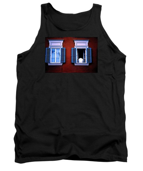 Open Window Tank Top