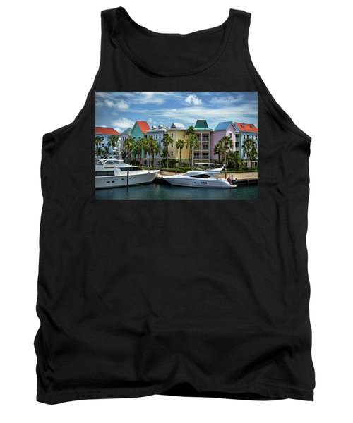 Tank Top featuring the photograph Paradise Island Style by Steven Sparks