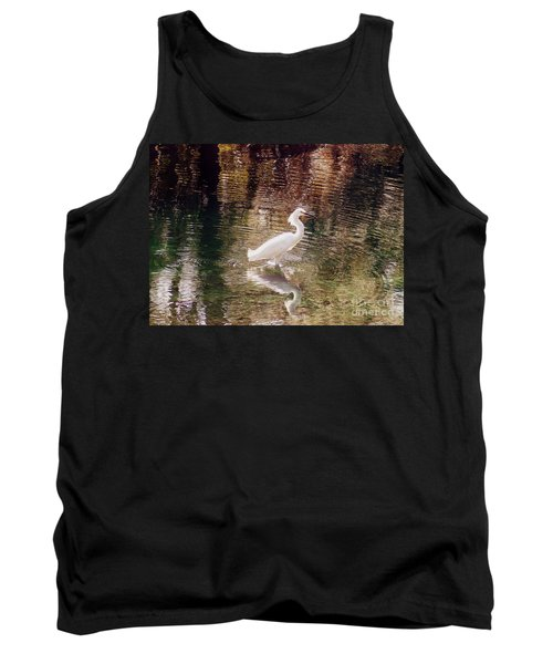 Tank Top featuring the photograph Peaceful Waters by Lydia Holly