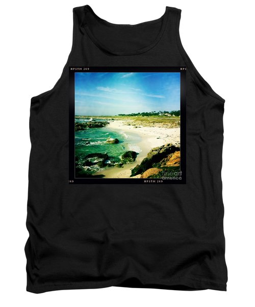 Tank Top featuring the photograph Pebble Beach by Nina Prommer