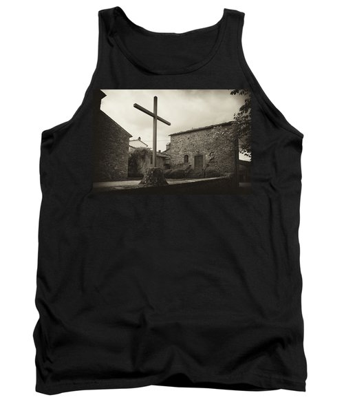 Tank Top featuring the photograph Pieve Di Santa Maria Alla Sovarra by Hugh Smith