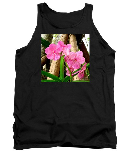 Tank Top featuring the photograph Pink Hawaiian Orchid by Tanya  Searcy
