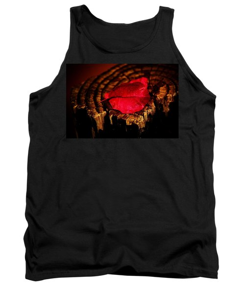 Tank Top featuring the photograph Pink Petal by Jessica Shelton