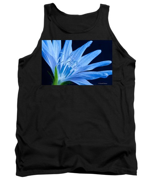 Tank Top featuring the photograph Pistil's Of Chicory by Randall Branham