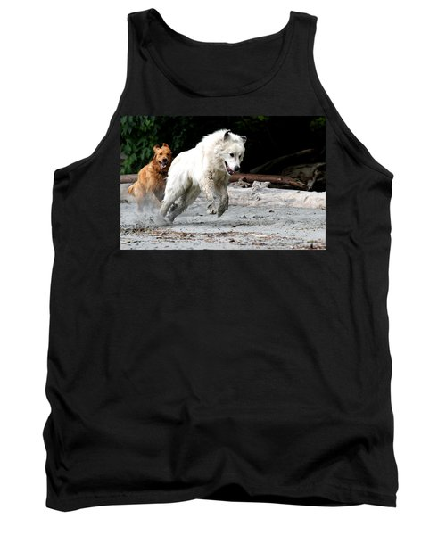Play Time On The Beach Tank Top