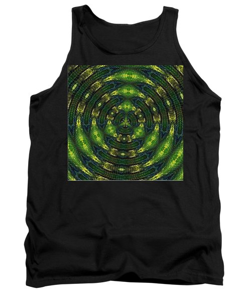 Tank Top featuring the digital art Pond Perfect by Alec Drake