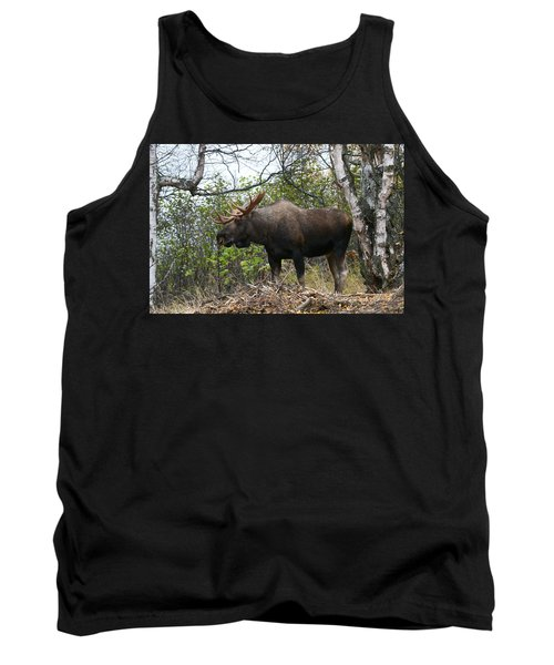 Tank Top featuring the photograph Poser by Doug Lloyd