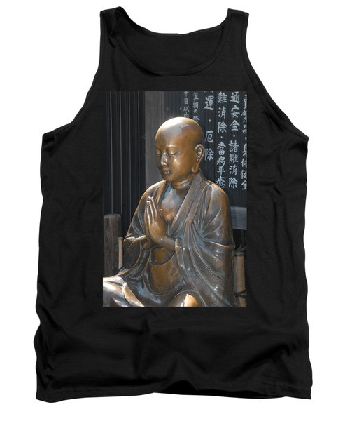 Praying Buddha Tank Top