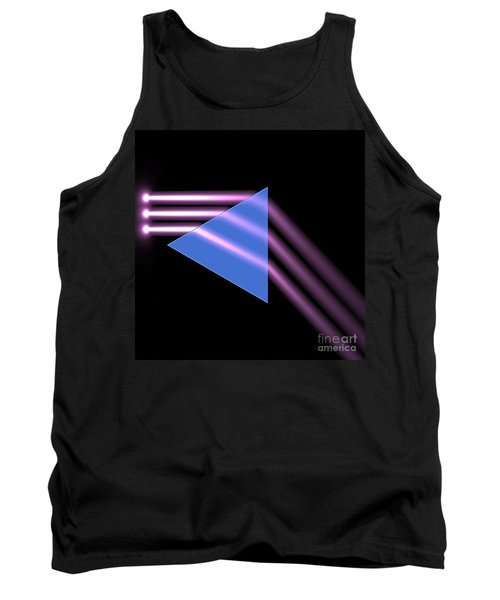 Tank Top featuring the digital art Prism 1 by Russell Kightley