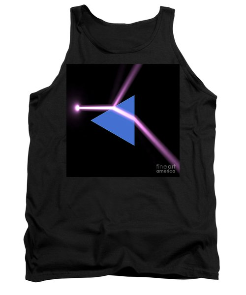 Tank Top featuring the digital art Prism 3 by Russell Kightley