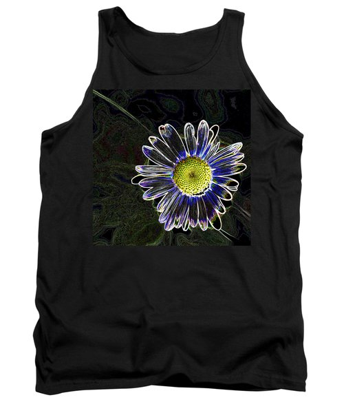 Psychedelic Daisy Tank Top