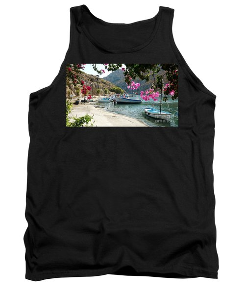 Quiet Cove Tank Top by Therese Alcorn