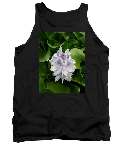 Tank Top featuring the digital art Rare Hawain Water Lilly by Claude McCoy