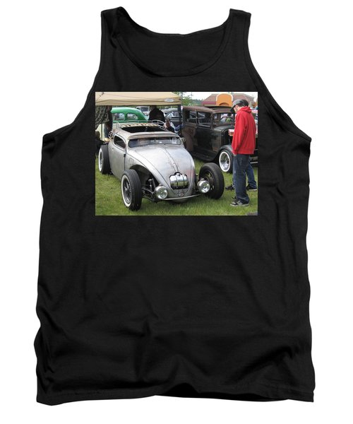 Tank Top featuring the photograph Rat Rod Many Parts by Kym Backland