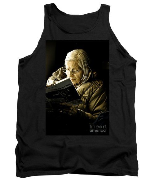 Reading Is Lifetime Passion Tank Top