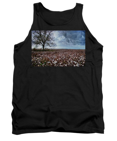 Red Cotton And The Tree Tank Top