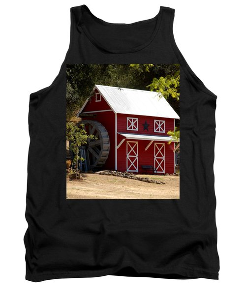 Red Star Barn Tank Top