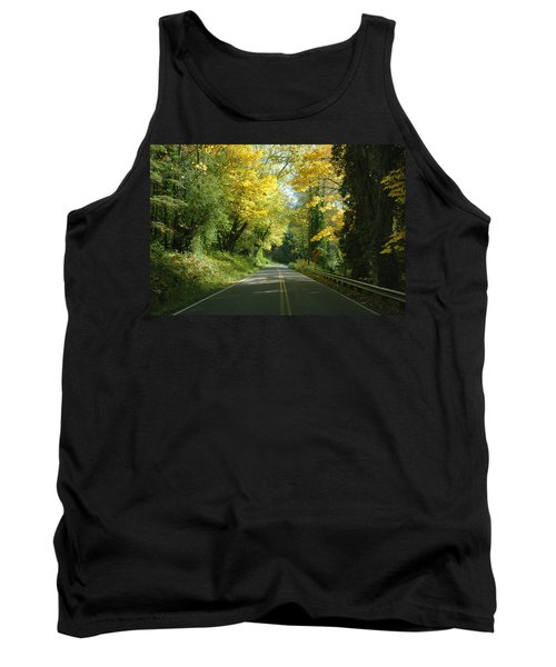 Road Through Autumn Tank Top