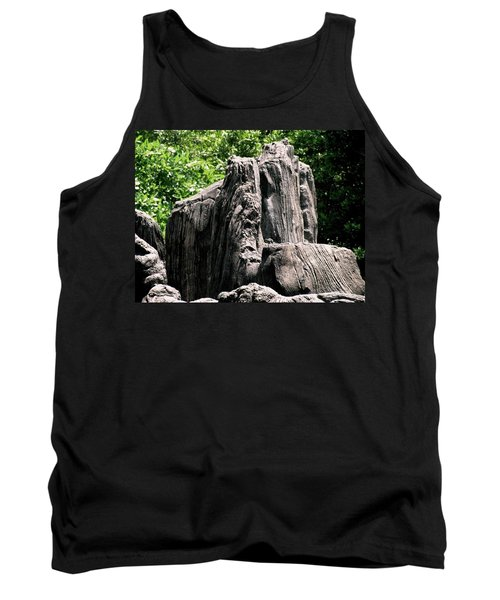 Rock Formation Tank Top by Maria Urso
