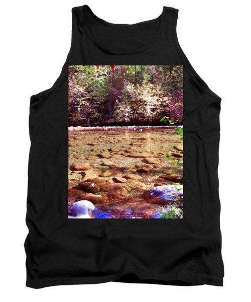 Tank Top featuring the photograph Rock Work by Janice Spivey
