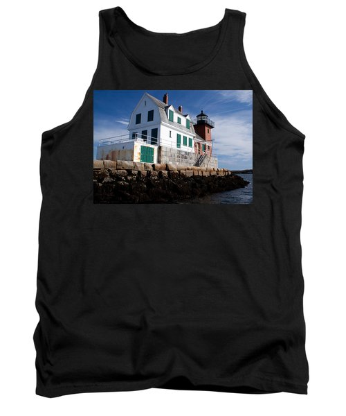 Rockland Breakwater Lighthouse Tank Top