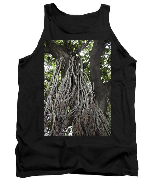 Tank Top featuring the photograph Roots From A Large Tree Inside Jallianwala Bagh by Ashish Agarwal