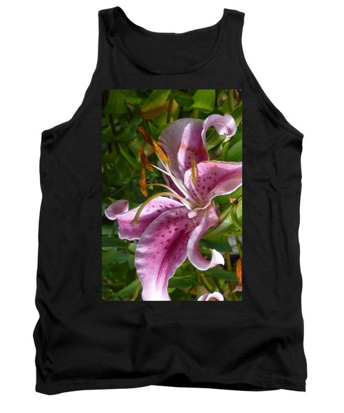 Tank Top featuring the photograph Rubrum Lily by Carla Parris