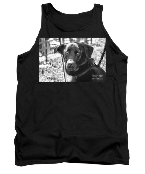 Tank Top featuring the photograph Sad Eyes by Eunice Gibb