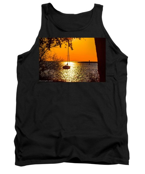 Tank Top featuring the photograph Sail Away by Shannon Harrington