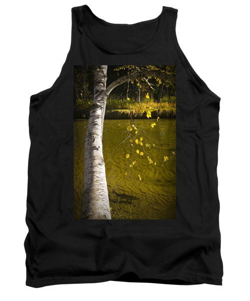 Salmon During The Fall Migration In The Little Manistee River In Michigan No. 0887 Tank Top