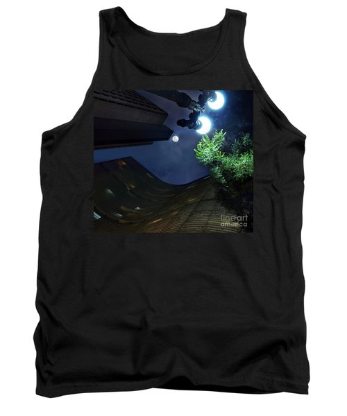 Copan Building And The Moonlight Tank Top