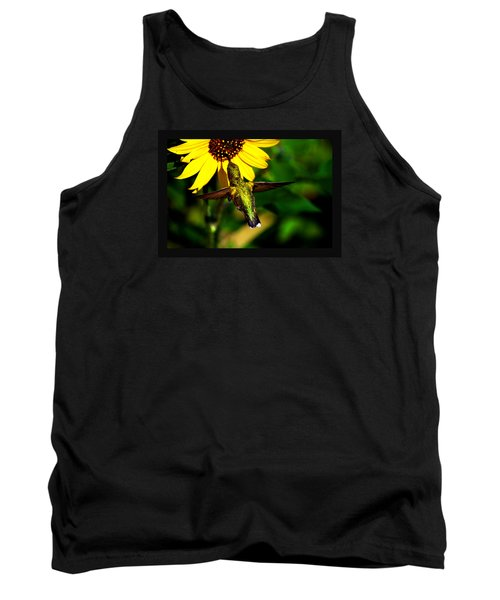Tank Top featuring the photograph Saturday Morning by Susanne Still