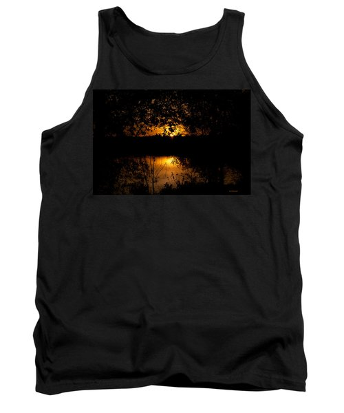 Scary Sunset Tank Top