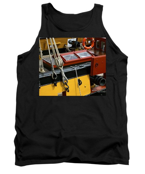 Tank Top featuring the photograph Sea Worthy by Elf Evans