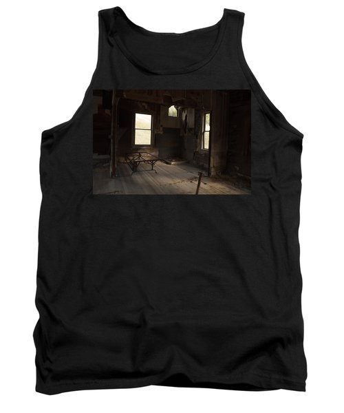 Tank Top featuring the photograph Shadows Of Time by Fran Riley