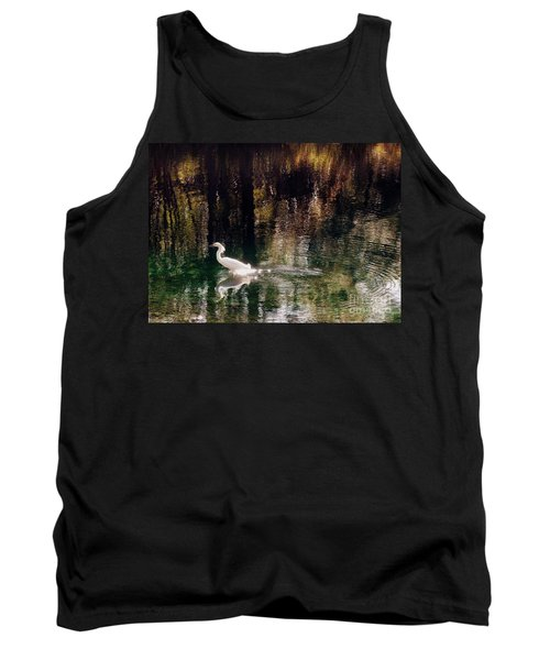 Tank Top featuring the photograph Shadowwaters by Lydia Holly