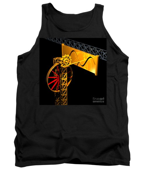 Sine Wave Machine Tank Top