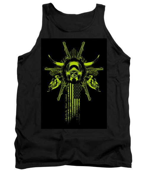 Six Shooter Tank Top by Tony Koehl