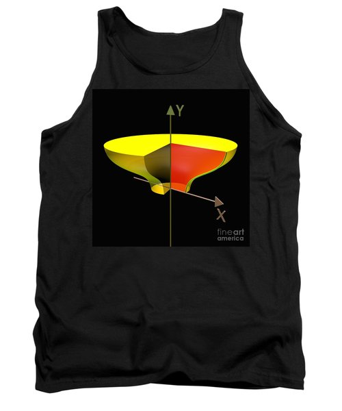 Tank Top featuring the digital art Solid Of Revolution 2 by Russell Kightley